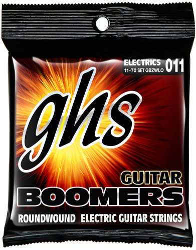 GHS Heavyweight Boomers Custom Lo-Tune Electric Guitar Strings Heavy - Heavyweight String