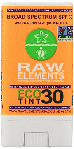 Raw Elements Sunscreen Eco Tint Stick 30, .60 oz
