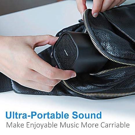 Portable Bluetooth Speaker - Enhanced Stereo Wireless Speaker w/ 360°  Sound, Rich Bass, Volume Booster, Powerful Big Sound Driver, 33ft Wireless
