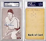 Al Kaline Signed - Autographed Detroit Tigers Vintage 1962 Exhibit Postcard Photo - PSA/DNA Certificate of Authenticity (COA) - PSA Slabbed Holder