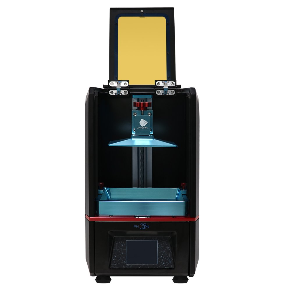 ANYCUBIC Photon UV LCD 3D Printer Assembled Innovation with 2.8'' Smart Touch Color Screen Off-line Print 4.53''(L) x 2.56''(W) x 6.1''(H) Printing Size