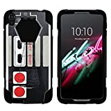 MINITURTLE Case Compatible w/ Alcatel One Touch Idol 3 | SHOCK Series Impact Hard Rubber Durable Unique Creative Cover, Idol 3 , 5.5″ Screen – Game Controller Review
