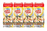 NESTLE COFFEE-MATE Coffee Creamer, Toll-House Chocolate Chip, liquid creamer singles, 50 count, Pack of 4