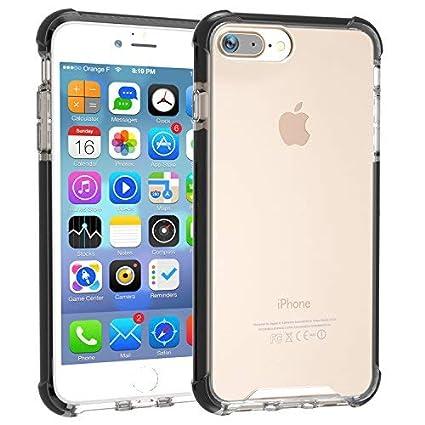 Amazon.com: LOVE MEI Crystal Series - Carcasa para iPhone 8 ...