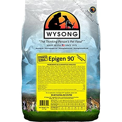 Amazoncom Wysong Epigen 90 Caninefeline Dry Diet Dogcat Food