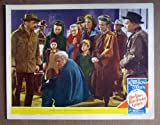 DN36 Our Vines Have Grapes EDWARD G ROBINSON Lobby Card.  Here's a terrific lobby card from the original release of OUR VINES HAVE TENDER GRAPES featuring a great image of EDWARD G. ROBINSON and MARGARET OBRIEN.    Lobby card is in EXCELLENT- condition. A few pinholes, no stains, a one-half inch edge tear on the lower border repaired on back with acid free tape.