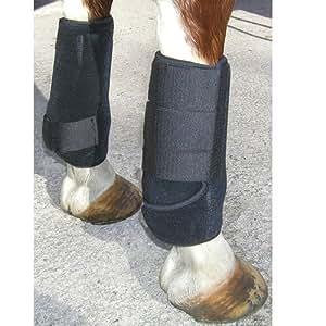 Intrepid International All Around Sport Horse Boots, Black, Small