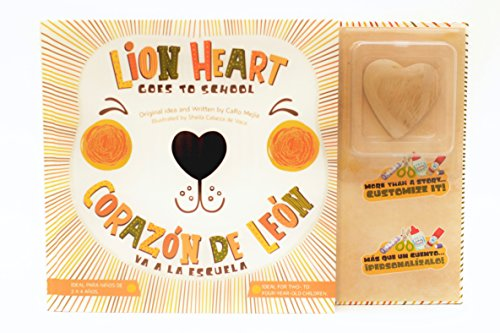 Lion Heart Goes to School Children's Book| Corazón de León va a la Escuela Libro Para Niños: Helping children with Separation Anxiety (English and Spanish Edition) (Corazon De Leon)