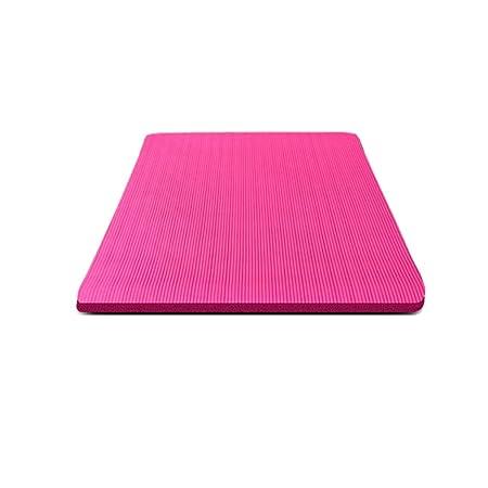 YXLZZO Estera de Yoga Doble NBR ensanchada Estera de Fitness ...