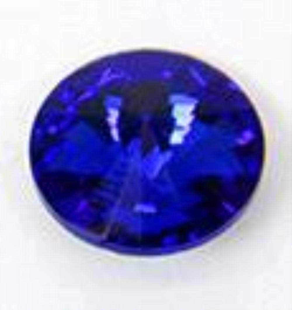 ZZ030 - Pulsera de cristal de 10 mm con pegamento para vestido de boda y diamantes de imitación, azul real