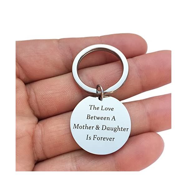 Keychain Gifts For Mom Mother Stepmom Gift Idea From Daughter Kids