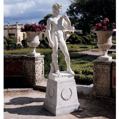 Design Toscano David Sculpture (Scale Quality Statue Museum)