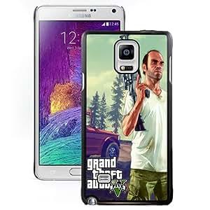 NEW DIY Unique Designed Samsung Galaxy Note 4 Phone Case For Grand Theft Auto V Phone Case Cover