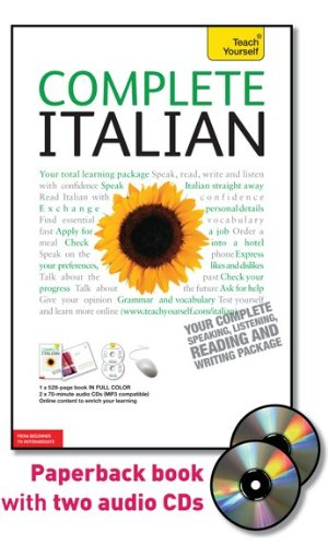 Complete Italian with Two Audio CDs: A Teach Yourself Guide (Teach Yourself Language) by McGraw-Hill (Image #1)