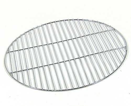 Sunnydaze Chrome Plated Cooking Grate for Grilling, 30 Inch Diameter