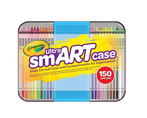 crayola-ultra-smart-case-art-tool-kit-cool-case-with-multiple-compartments-great-gift