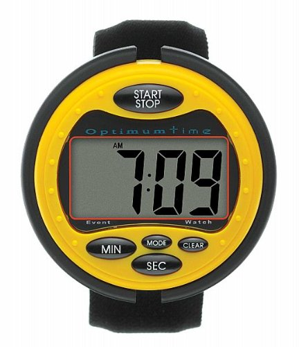 Optimum Time Ultimate Event Watch - For accurate cross country times - Large clear LCD display screen, compact & comfortable with alarm feature by William Hunter Equestrian