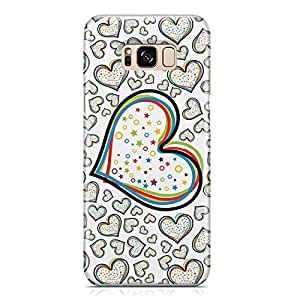 Samsung S8 Plus Case Love Pattern Gift For Girls Durable Metal Inforced Light Weight Samsung S8 Plus Cover Wrap Around 122
