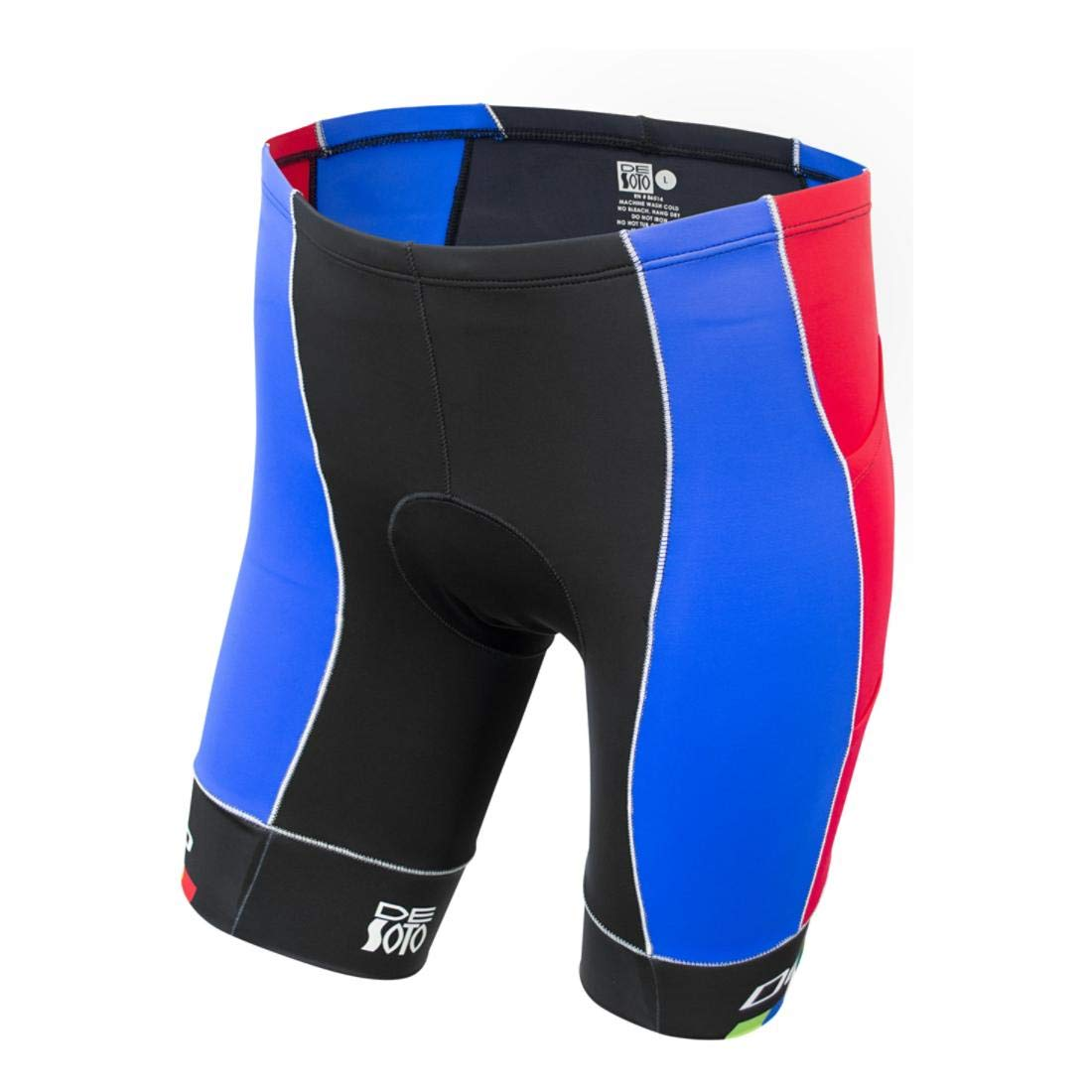 春早割 De SotoスポーツMobius Tri Short Leg 4-pocket – Leg MTF – – 2018 B07GHPKHX4 Red/Blue/De Soto Leg Band X-Large X-Large|Red/Blue/De Soto Leg Band, フルーツ SHOMEIDO:5d2a14e3 --- mcrisartesanato.com.br