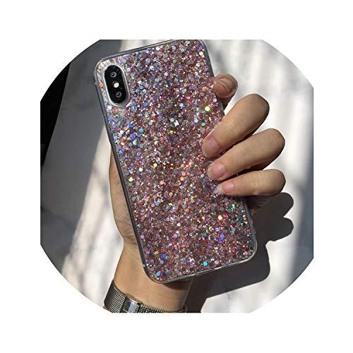 Shining Phone Case Lite Fundas,Pink,for Redmi 6 Pro
