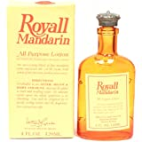 Royall Mandarin Orange For Men. Aftershave Lotion Cologne 4 Ounces.