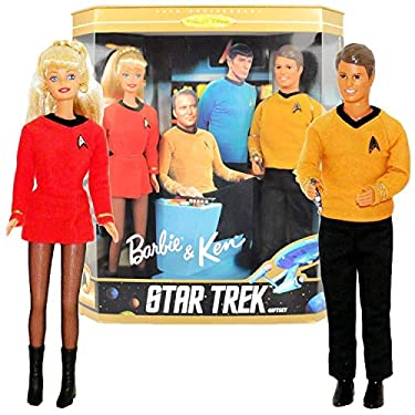 Barbie And Ken Star Trek 30th Anniversary Action Figures