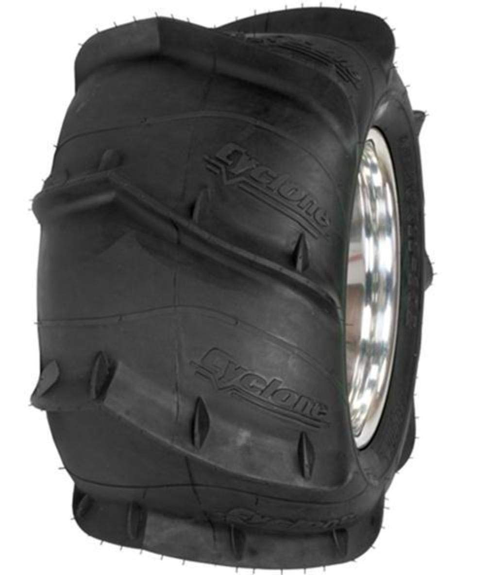 Sedona Cyclone Sand Paddle Tire - Rear Left - 20x11x9L , Position: Rear, Rim Size: 9, Tire Application: Sand, Tire Size: 20x11x9L, Tire Type: ATV/UTV CY20119L 4333045138