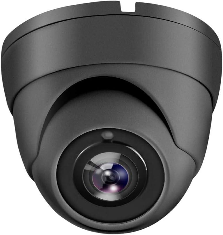 HDView 2.4MP 4-in-1 HD (TVI/AHD/CVI/960H) 1080P Outdoor Black Film Technology Better Matrix IR Night Vision Turbo Platinum Dome Camera Grey