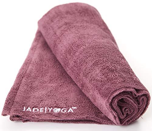 Jade Yoga Towel Yoga Microfiber Orchid 14In X 24In, 1 Each (Mat Pink Jade Yoga)