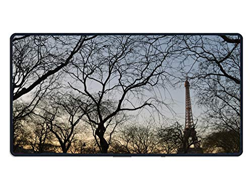 Palette Paris Travel Mouse Pad Funny Awesome Customized, Rectangle