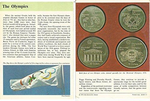 1979 Panarizon, Story Of America, Booklet #957-17 The Olympics