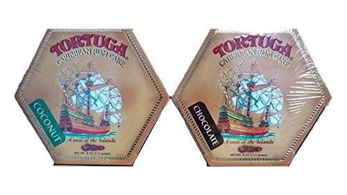 Tortuga Rum Cake, Pick your flavors, 4-Ounce Cake 2 Pack Mix. From (Golden Rum)
