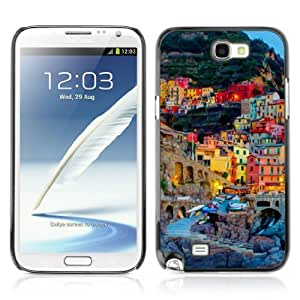 YOYOSHOP [Italian Town] Samsung Galaxy Note 2 Case