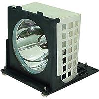 AuraBeam Economy Mitsubishi 915P020010 Television Replacement Lamp with Housing