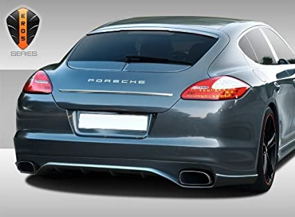 2010-2013 Porsche Panamera Eros Version 2 Rear Lip Under Spoiler Air Dam - 1