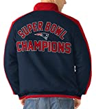 4x superbowl champions - New England Patriots Throwback 4X Super Bowl Champions Fleece Jacket