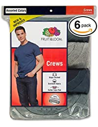 Men's Stay Tucked Crew T-Shirt, (Large, Assorted)