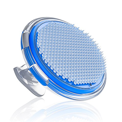 Ingrown Hair and Razor Bump Treatment Brush - Exfoliating Facial and Body Brush - Cellulite Massager for Men and Women