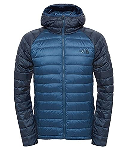 The North Face Trevail Hoodie Mens Shady Blue/Urban Navy Medium
