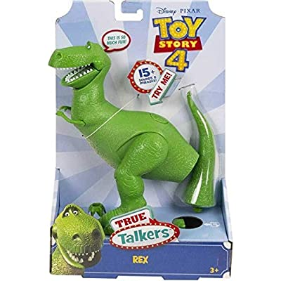 Pixar Toy Story 4 - REX, True Talkers - Re-Create The Movie Magic with Your Favourite Talking Toy Story Friends!: Toys & Games [5Bkhe1102452]
