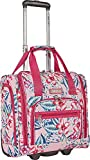 Ninewest Luggage Corridor Nine 15 inch Underseater, Pink Aloha Floral