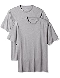 Men's Big & Tall 2-Pack Loose Short-Sleeve Crewneck T-Shirts Fit by DXL