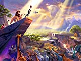 The Lion King Beautiful Disney Painting Art 24x18 Print Poster