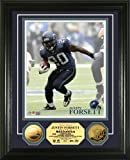 Highland Mint NFL Seattle Seahawks Justin Forsett 24KT Gold Coin Photomint