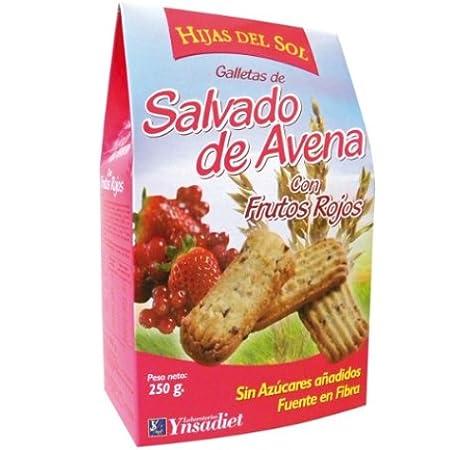 GALLETA AVENA + FRUTOS ROJOS 250 gr: Amazon.es: Salud y cuidado ...