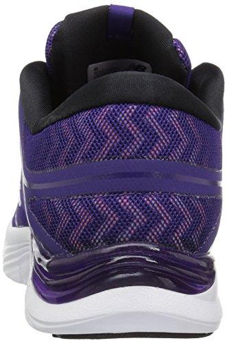 New Balance Wx711cm2 - Zapatillas de running Mujer Black Plum/Zig Zag Violet Glow Graphic/Bleached Sunrise