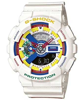 4660aad13f36 Amazon.com: Casio G-Shock Dee And Ricky II - White (GA-111DR-7ACR): Watches