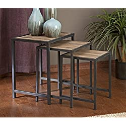 IMAX 74145-3 IK Groveport Nesting Tables-Set of 3