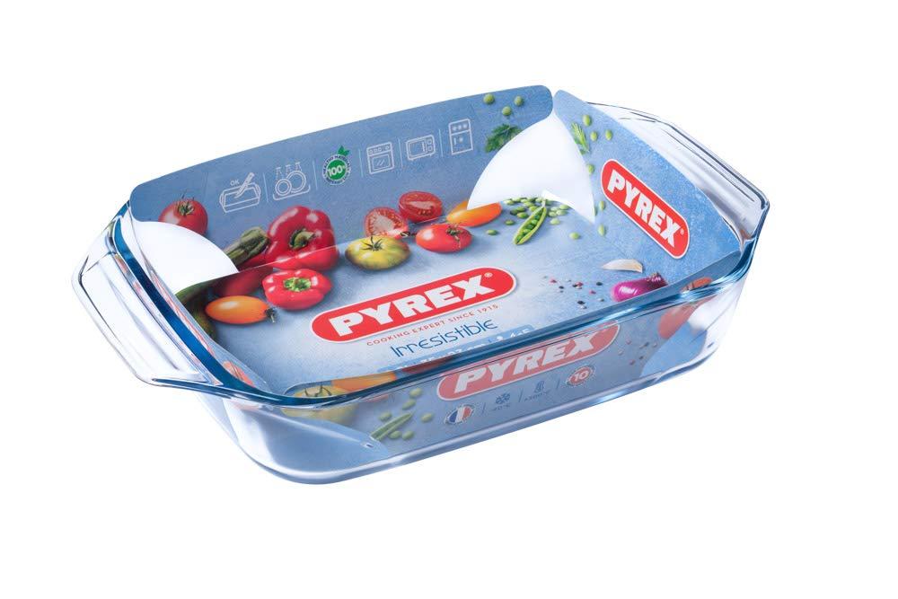 Pyrex - Irresistible - Plat à Four Rectangulaire en Verre 31x20 cm   Amazon.fr  Cuisine   Maison 34f0737735a9