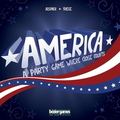 America Board Game -